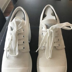 Marc by Marc Jacobs white canvas sneakers size 38
